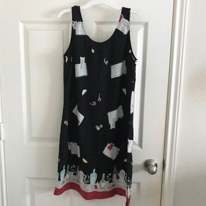 Weekend Traffic Martini Mixed Drink Theme Dress